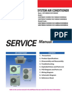 Samsung CAC (Outdoor 070 to 140) Service Manual