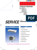 Samsung CAC (Slim 1 Way Cassette) Service Manual