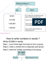 2. Write and Read Numbers
