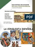 Conquista Española Al Ecuador