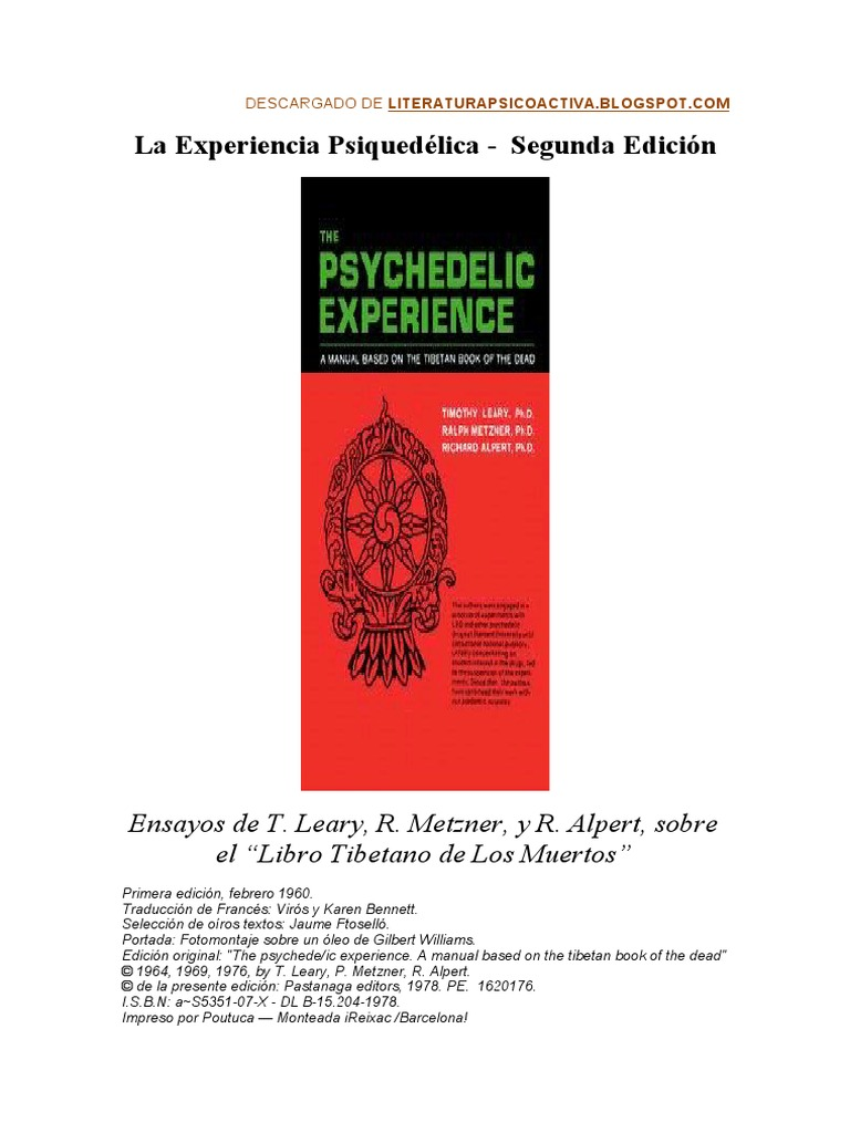 Timothy Leary_La Experiencia Psiquedelica.doc