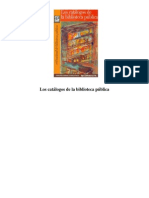 Catalogo s Biblioteca Public A