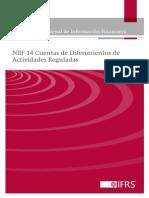 NIIF 14 - Cuentas de Diferimientos de Actividades Reguladas
