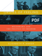 Orgies of Feeling by Elisabeth R. Anker