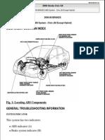 2006 2009 Honda Civic Service Manual Anti Lock Braking System Vehicle Technology