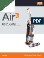 Vax Air3 User Guide