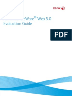 CentreWare Web CWW v5.0 EvaluationGuide English