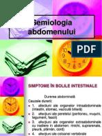 12. Semiologia Abdomenului, Sdr Peritoneal Sdr Ascitic