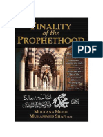 Khatm e Nobowwat Prophet Hood (EN)
