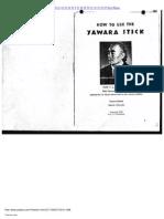 F A Matsuyama - How To Use The Yawara Stick