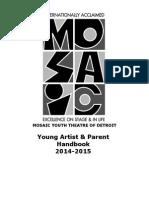 2014-15 ya  parent handbook