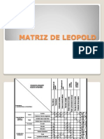 Matriz de Leopold Revisar