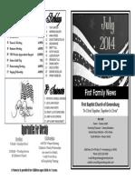 FBC Newsletter 07 2014