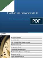 GestGestion de Servicios de TI V1.1ion