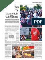 Los Hispanos Perdieron La Paciencia Con Obama