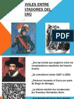 Guerras Civiles Entre Los Conquistadores Del Perú II
