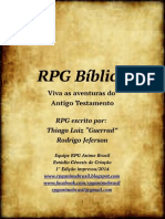 RPG BÍBLICO Versão Comercial Módulo Básico Na Íntegra Grátis