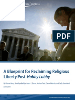 A Blueprint for Reclaiming Religious Liberty Post-Hobby Lobby