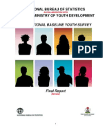 2102 National Baseline Youth Survey Report
