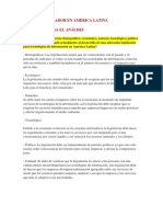 Desafío Regulador en América Latina