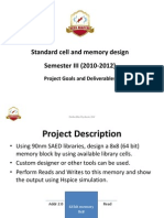 STDCMEM Course Project 2010 Copy