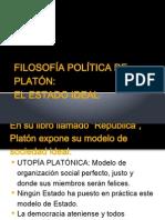 Filosofía Política de Platón.ppt