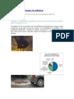 Les Différentes Formes de Pollution