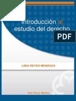 Introduccion Al Estudio Del Derecho Libia Reyes Mendoza