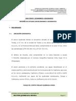 Estudio Socioeconomico-geografico Quebrada Honda