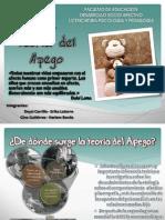 Upn Desarrollosocioafectivo Teoriaapego 110909151955 Phpapp01