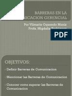 Barreras en La Comunicacion Gerencial II