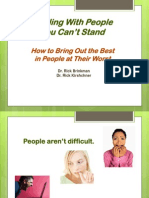 Dealing With People You Can't Stand Presentation