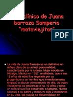 Caso Clínico de Juana Barraza Samperio