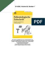 Gohlich 2010 - Miocene Proboscidea Sandelzhausen