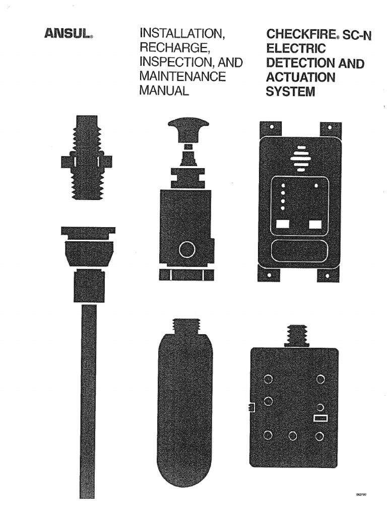 a 101 manual nozzle fires