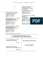 Declaration of John Paton in the case of Citizens for Two Voices vs. Deseret News