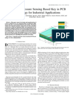 Capacitive Pressure Sensing Based Key in PCB Technology for Industrial Applications