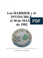 LOS HARRIER Y EL INVINCIBLE EL 30 de MAYO de 1982