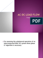 Ac Dc Load Flow 3phase