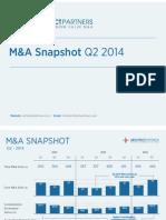 Q2 2014 M&A Snapshot