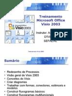 Apresentação curso MS Visio 2003