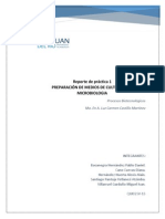 PREPARACIÓN DE MEDIOS DE CULTIVO PARA MICROBIOLOGÍA
