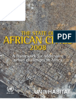 23182903 the State of African Cities Report 2008
