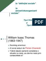 Teoria Lui w.thomas.
