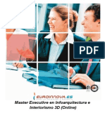 Master Infoarquitectura Interiorismo 3d Online