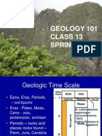 Geology 101 Class 13 Spring 2014