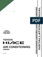 Toyota Hiace Aire Acondicionado