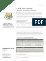 Aerohive-Cloud VPN Gateway