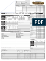 Pathfinder Editable Sheet - Sima Zivotinja