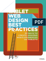 Tablet Web Design Guide Mobify